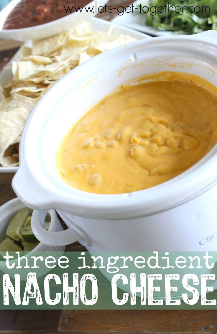 Three Ingredient Nacho Cheese Sauce