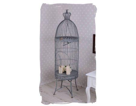 Gigantischer Vogelkäfig Voliere Vintage Käfig Antik Stil 145Cm
