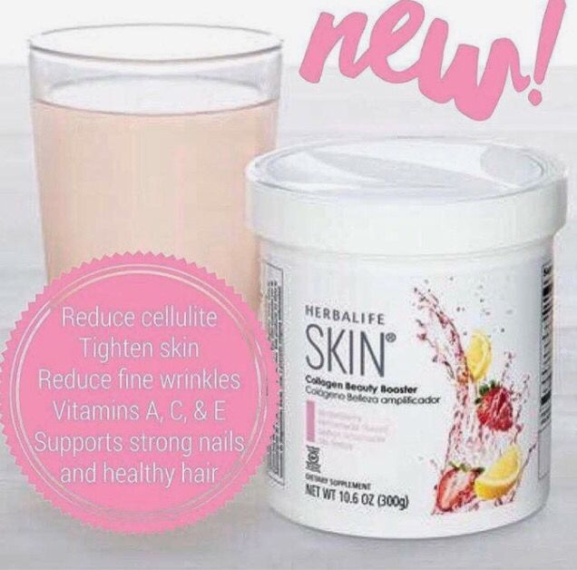Tighten that skin , reduce cellulite and fine lines !!! Seriously works, noticed results in just a week! Herbalife skin- collagen beauty booster