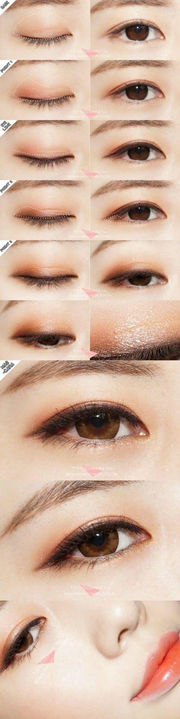 30 ���ไตล์การลง How To Put Eyeshadowasian
