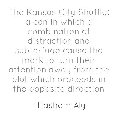 Explanation of the Kansas City Shuffle, used in Lucky Number Slevin