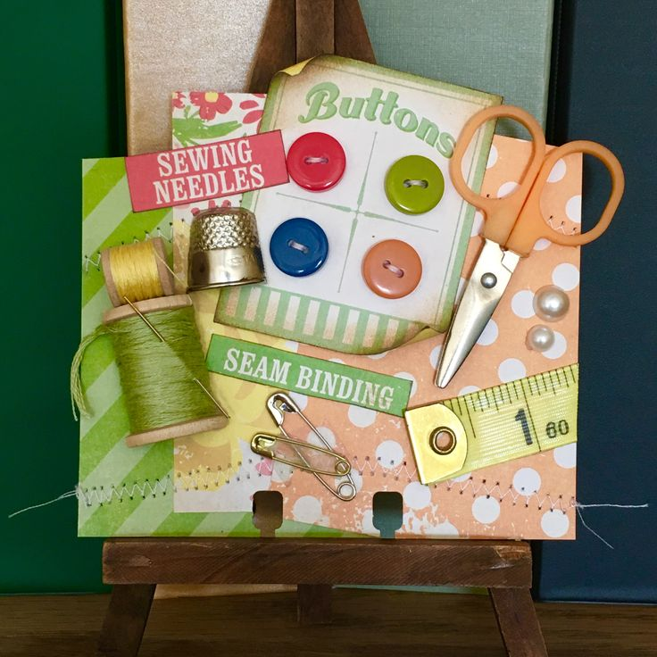 Sewing Memorydex Rolodex Card by Jackie Benedict