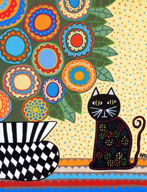 Kerri Ambrosino Art PRINT Mexican Folk Art  by kerriambrosino, $20.00