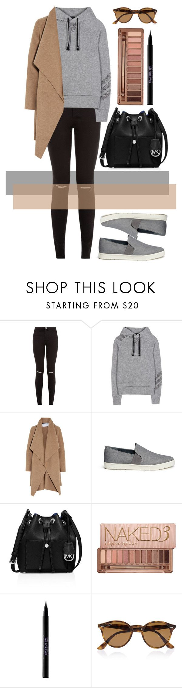 """""""Untitled #540"""" by ssm1562 on Polyvore featuring Y-3, Harris Wharf London, Vince, MICHAEL Michael Kors, Urban Decay, Ray-Ban, women's clothing, women's fashion, women and female"""