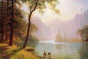 Kern's River Valley, California  by Albert Bierstadt