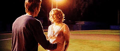 Pin for Later: The Best Movie Kisses of All Time Never Been Kissed Once he finds out it's not a creepy teacher-student relationship, Sam (Michael Vartan) gives Josie (Drew Barrymore) her very first kiss.
