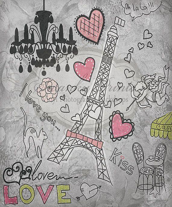 Valentine in Paris - Oz Backdrops and Props