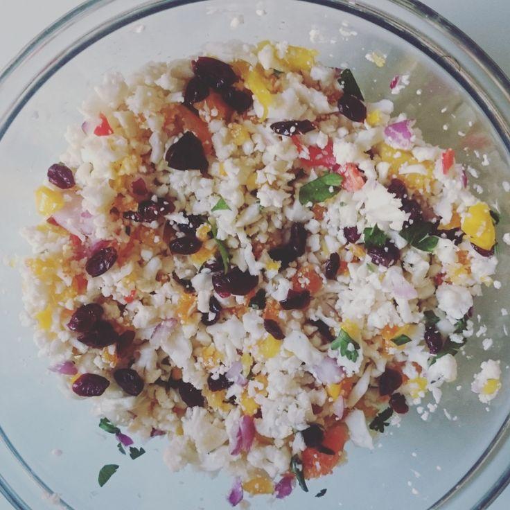 Thermomix Rainbow Cauliflower Rice