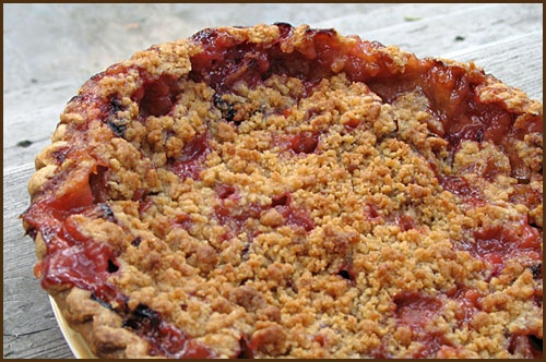 Rhubarb-Strawberry Pie this reminds me of summer in MichiganDesserts Ideas, Strawberryrhubarb Pies, Rhubarbstrawberri Pies, Sweets Treats, Food, Rhubarb Strawberries Pies, Favorite Recipe, Sweets Stuff, Sweets Tooth