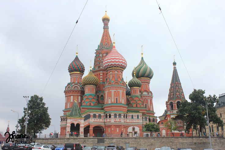 Cathedral of the Intercession or Saint Basil Cathedral in Red Square, Russia