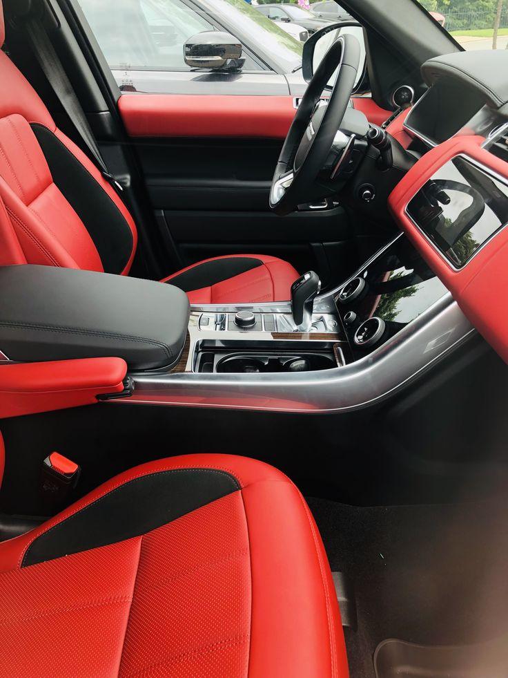 2019 Range Rover Sport pimento red interior www