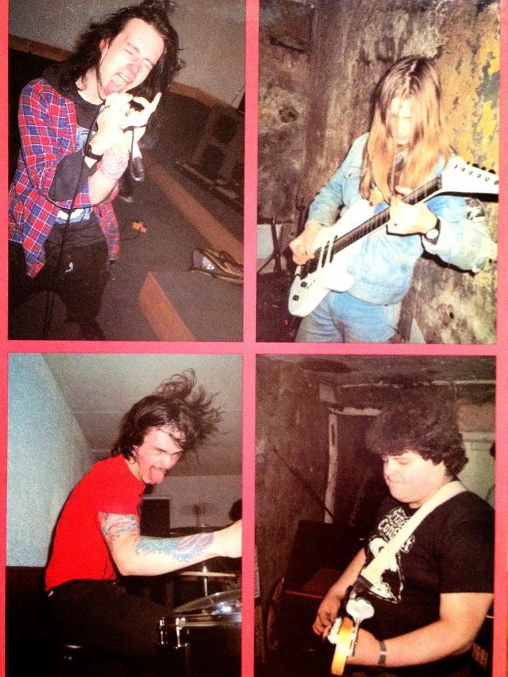 Napalm Death (1986) (UK)