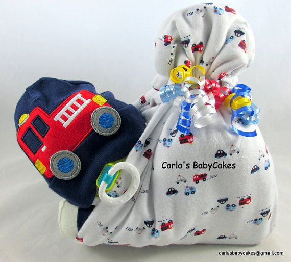 Stork bundle baby  Boy diaper cake  Stork by MsCarlasBabyCakes