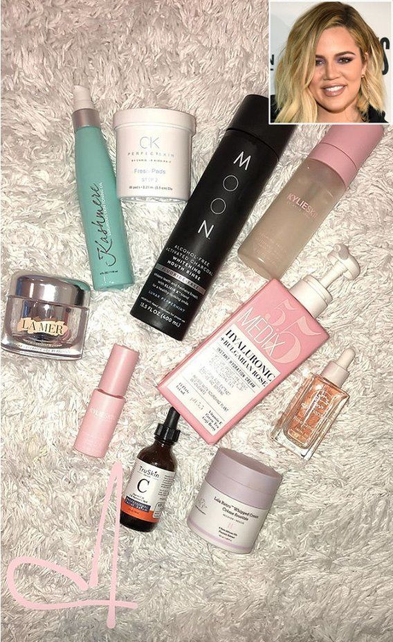 From 295 Neck Cream To To 13 Moisturizer The Beauty Products Khloe Kardashian Uses In Her Current Skincare Lineup In 2020 Khloe Kardashian Neck Cream Kardashian