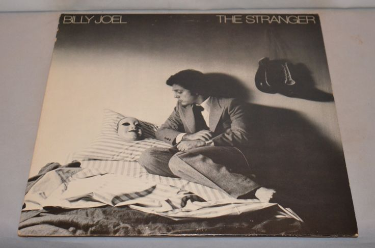 Vintage Record Billy Joel: The Stranger Album JC-34987 by FloridaFinders on Etsy