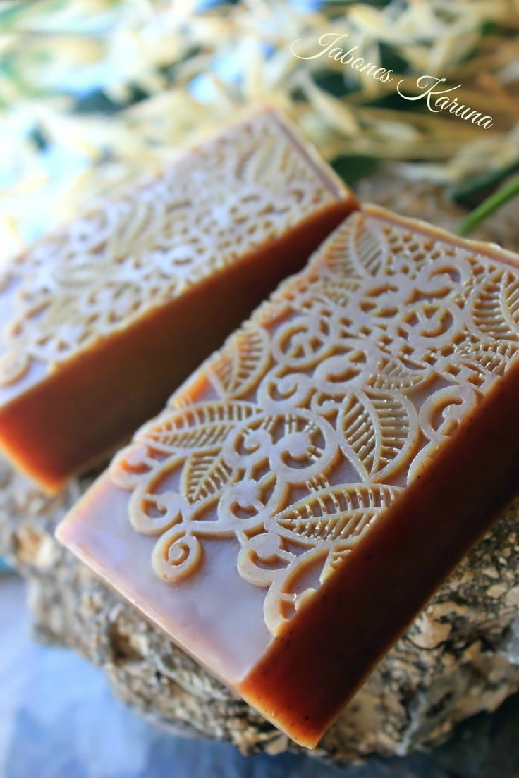 Jabón de canela y naranja. Cinnamon and orange soap