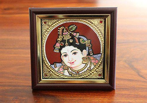 Tanjore Krishna Painting – Desically Ethnic  #Tanjorepainting #Homedecor #Homeandliving #Tanjore #Painting #Art #Shopnow #Onlineshopping #India #Ecommerce #desi #desicallyethnic #ethnic #home #krishna