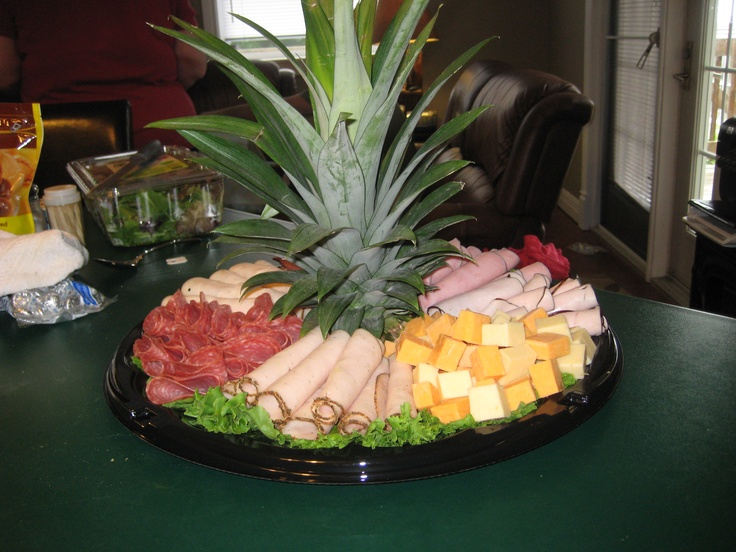 Meat tray - Ashley's shower