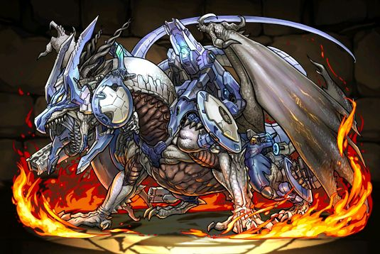 Bolmeteus Steel Dragon in Puzzle and Dragons