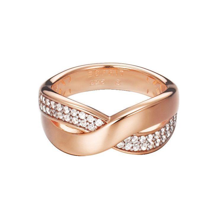 Esprit Ring Vibrant Glam Rose ESRG92443B ESRG92443B180
