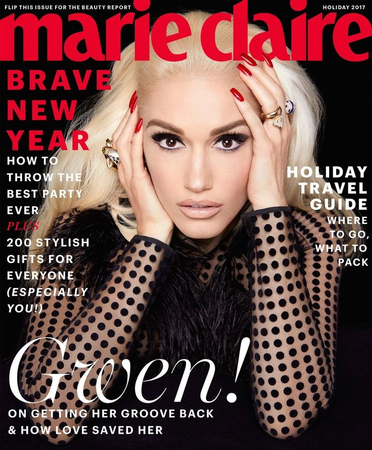 Introducing Gwen Stefani as Marie Claire's 2017 holiday issue cover star. Get a sneak peek of her interview and see more photos from her shoot here!