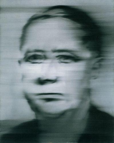 Richter: Portrait Klinker 1965 100 cm x 80 cm Oil on canvas