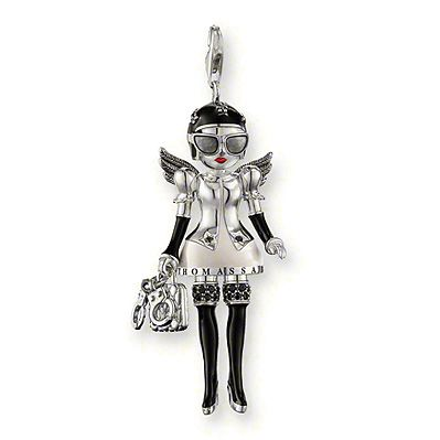 Tomas Sabo Sterling silver doll charm £234 (! eek !) #charms #jewellery