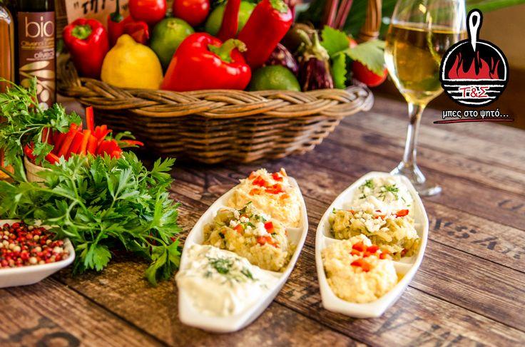 Τρίποντο στην γεύση, τρίποντο στην απόλαυση!!! Τρίποντο αλοιφών, για να συνοδεύει υπέροχα κάθε τραπέζι!!! #ΤηγανιέςΣχάρες #μπες_στο_ψητο #αγαπαμε_το_κρεας #Ψητοπωλείο #Θεσσαλονίκη #Λαδάδικα #Καυταντζόγλου