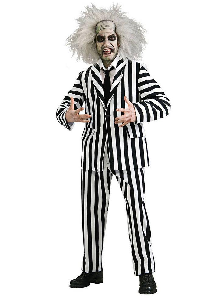 grand heritage beetlejuice adult costume cheap beetlejuice costumes for men
