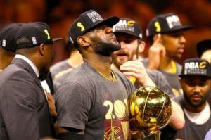 Lebron James validates greatness by Cleveland title win