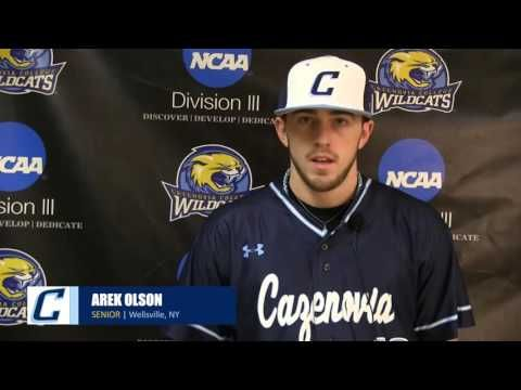 Meet the 2016 Cazenovia College Wildcats baseball team.