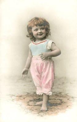 Vintage Rose Album: Małe dziewczynki są urocze ;)