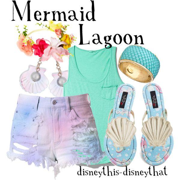 """Mermaid Lagoon"" by disneythis-disneythat on Polyvore"