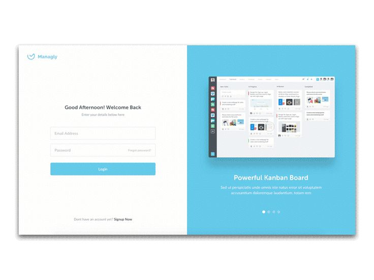 Login Page Interaction by Paresh Khatri #Design Popular #Dribbble #shots
