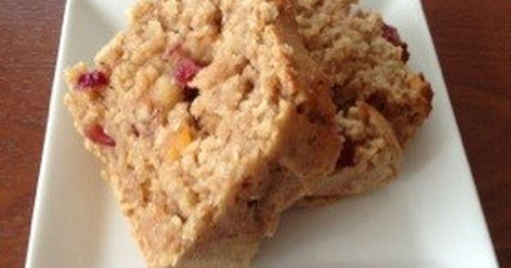 ヘルシー!マクロビ!ダイエット中のオヤツにも、朝食にもOKなオートミールケーキです!ふんわりしっとり☆美味しい!