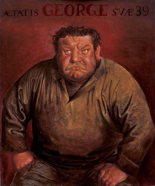 Otto Dix • Bildnis des Schauspielers Heinrich George, 1932