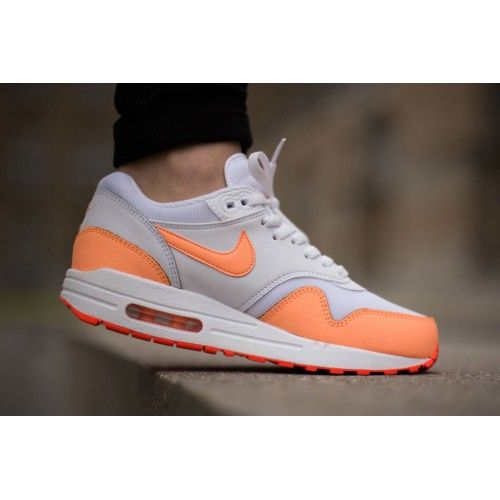 Nike Air Max 1 Essential Sunset Glow Womens Shoes & Trainers UK Cheap