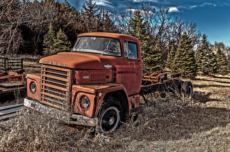 Old Dodge Freight Truck from the 1960's
