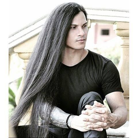 Higor Fernandes Male Models Long Haired Men