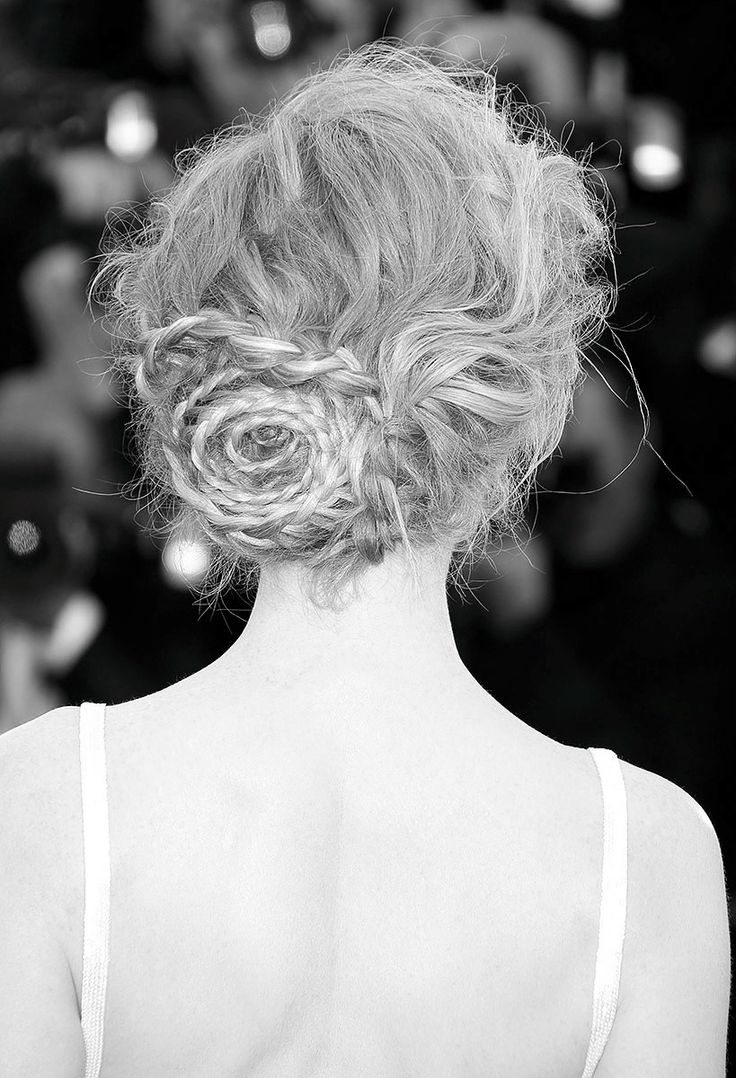 48 best Hair Goals images on Pinterest | Bridal hairstyles, Hair dos ...