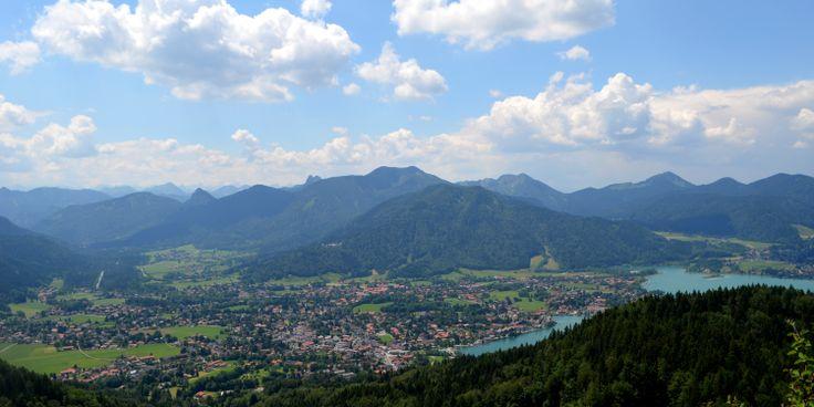 Traumhaftes Panorama am Riederstein