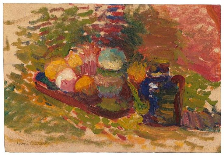 HENRI MATISSE.  Nature Morte, Ca. 1902-03