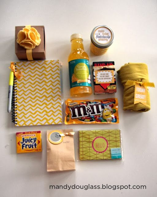 sunshine box....geesh i teared up just looking at this! So thoughtful!