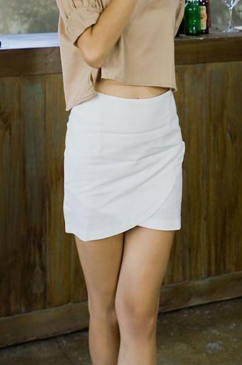 mini wrap skirt from Kakuu Basic. Saved to Kakuu Basic Skirts. Shop more products from Kakuu Basic on Wanelo.
