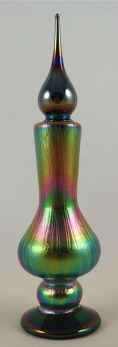 Stuart Abelman Art Glass Perfume Bottle