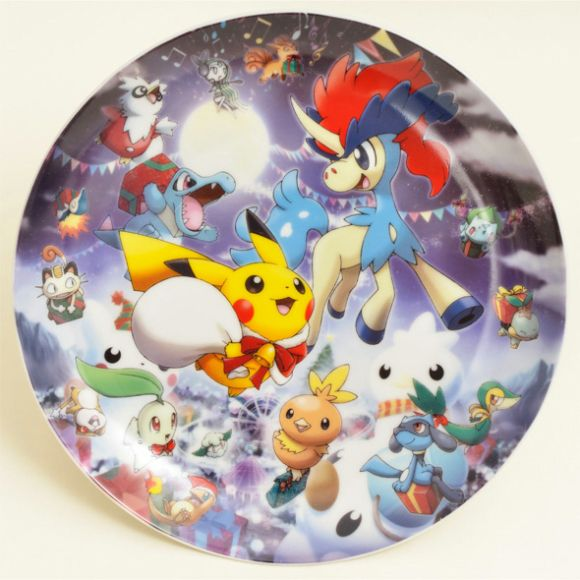 Chritmas Pokemon Plate