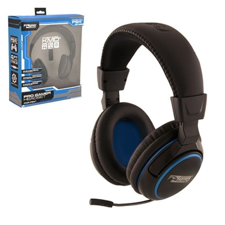 KMD Wired Professional Gaming Headset With Microphone For Sony Playstation PS 4 #2122034