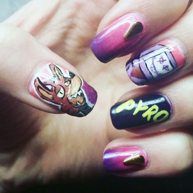 20 best Nerdy Nails! images on Pinterest   Nerdy, Nailart and Anime