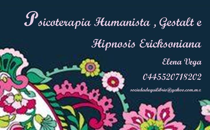 Psicoterapia Humanista, gestalt e hipnosis ericksoniana