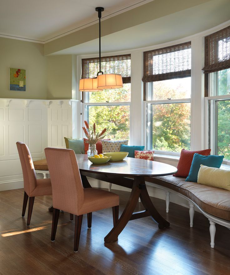 bay window seats windows kitchen table bench seat